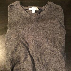 Gap Grey cotton cashmere Sweater